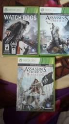 Watch Dogs+Assasin's Creed Para Xbox 360 comprar usado  Rio de Janeiro