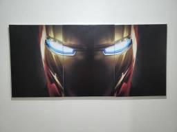 Lindo quadro 3em1 homem de ferro