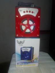 Promoção caixa de som