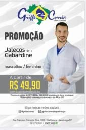 Jaleco Gabardine