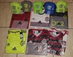 Camisa e Boné do Flamengo
