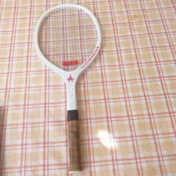 Raquete de tênis Kneissl master branca