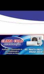 Clima cold Refrigeração