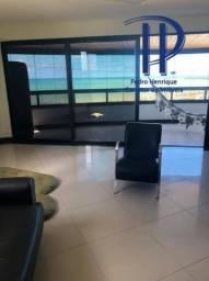 Luxuoso apartamento no Cabo Branco, com 312m² com vista definitiva pro mar.