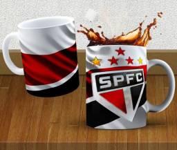 Caneca São Paulo Times 325ml #. Gqzxc Ulqxv