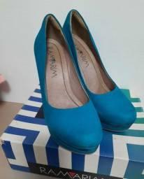 Sapato Ramarim Azul