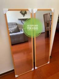 Novos - Promoção Espelhos Novos - 90cm x 30cm