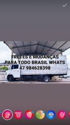 FRETES MUDANÇAS