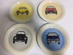 Pratos lindos da Oficina de Clássicos da Volkswagen