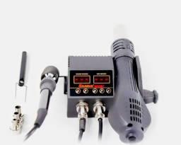 Estação de ar quente + ferro de solda retrabalho Smartphone celular $450