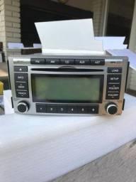 Som Rádio-CD player para Santa Fé 2010