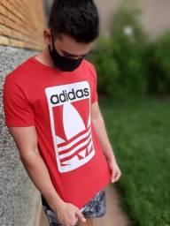 Camisa Adidas Vermelha