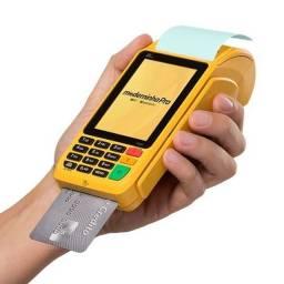 Maquininha de Cartão ( Faz recarga de Celular, Crédito e Débito cai na hora)