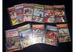 Coleção Completa Clássicos Disney 1978 - 1 Ao 11 - Excelente estado