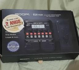 Pedaleira Zoom G1 X Four - Nova