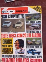 Revista 4 Rodas Antigas