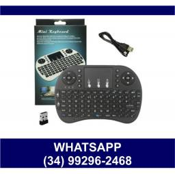 Mini Teclado sem fio Bluetooth Tv box Smart Tv * Fazemos Entregas