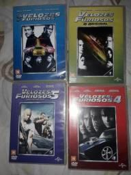 DVDs velozes e furiosos