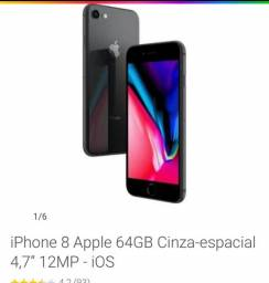 IPhone 8 Plus 64 GB cinza-espacial