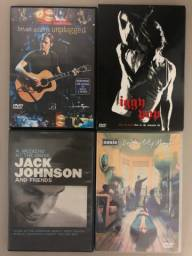 DVDs - Rock - Lote - Oasis - Iggy Pop - Bryan Adams - Jack Johnson