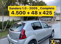 Sandero Exp 1.0 - 2009 _ Pouco Rodado_ 2º Dono _ Completo