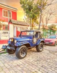 Jeep Willys motor de opala 6 cc 200cv 4x4