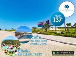 Lote no Villa Cascavel 2 no Ceará (Praia) {{{