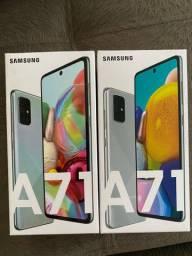 Samsung Galaxy A71 Lacrado NF Garantia 1Ano