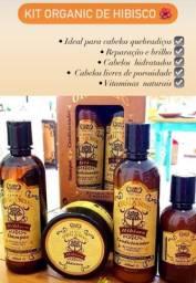 Kit para os Cabelos ORGÂNICO , Temos Shampoo para todos os tipos de cabelo