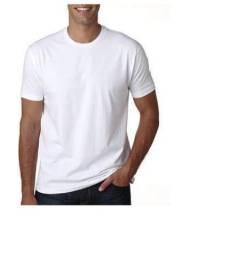 Camiseta branca para sublimação