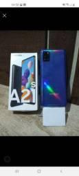 A21s na caixa com nota 64GB 4 de Ram