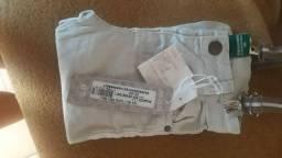 Calça de 1 ano com suspensórios