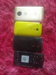 Título do anúncio: Vendo 4 celular com defeito
