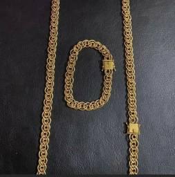 Título do anúncio: Corrente luxuosa garantia eterna moeda antiga