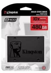 Título do anúncio: Hd SSD 480Gb Kingston SA400S37/480G 500MB/450MBS