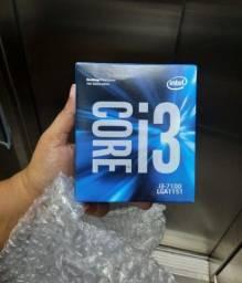 Título do anúncio: Processador Core i3 7° geração 7100 Lga 1151