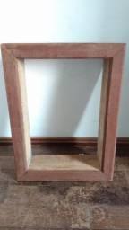 Caixilho em madeira