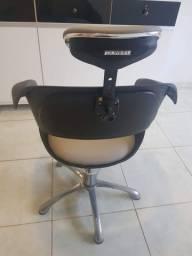 Cadeira e lavatório para salão de beleza Dompel