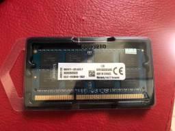 Memória Ram DDR3 1333mhz Kingston Blue 8GB - Kvr1333d3s9/8g