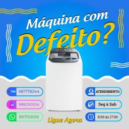 Título do anúncio: Manutenção de Máquina de Lavar