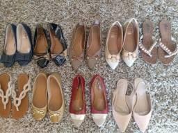 Título do anúncio: Lote de calçados por R$40