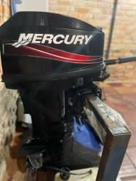 Título do anúncio: Motor Mercury 25 Hp