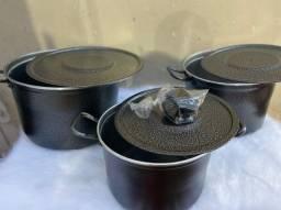 Kit caldeirão 8.9 e 10 litros