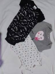 Roupas de bebê RN e P