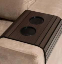 Título do anúncio: Esteira braço para sofá cor tabaco NOVO ENTREGAMOS