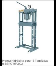 Título do anúncio: Prensa 15 toneladas-Ribeiro equipamentos