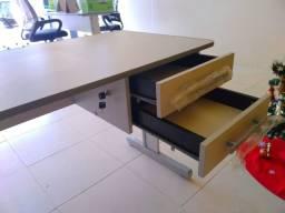 Mesa escritório 2 gavetas
