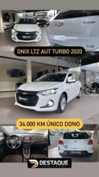 Título do anúncio: ONIX LTZ TURBO 2020 câmbio automático oportunidade sem detalhes !