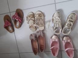Título do anúncio: Combo sapatinhos menina