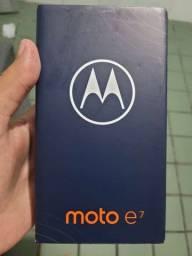 Título do anúncio: Moto E7 64gb NOVO! LACRADO!